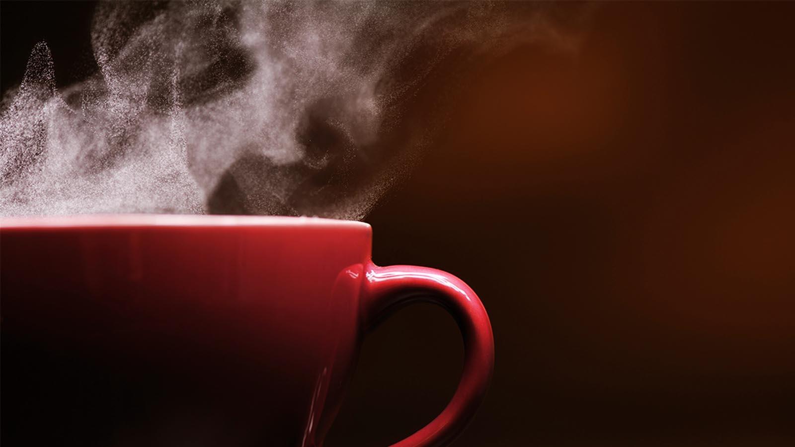 قهوه انسان عاقل
