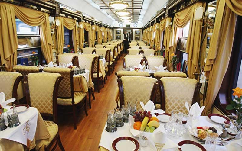 قطار لوکس عقاب طلایی روسیه در راه ایران است