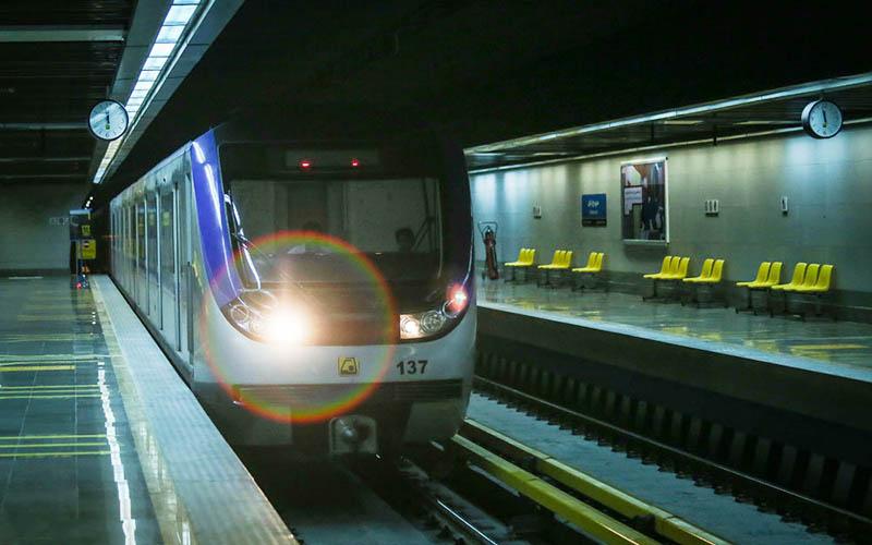 استفاده از مترو در تهران افزایش یافت