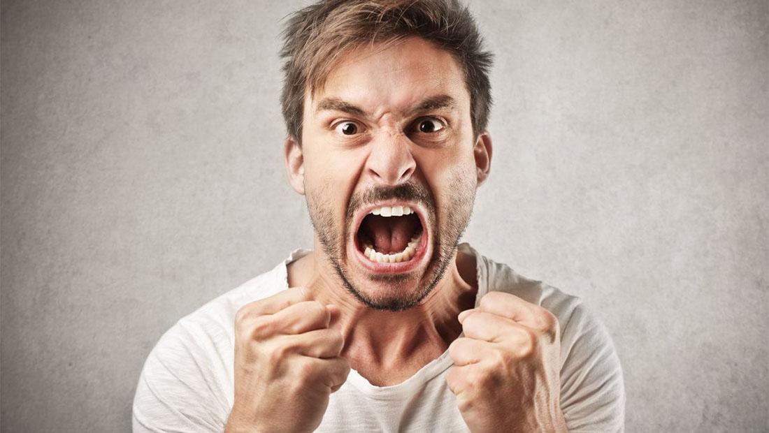 مشتری عصبانی