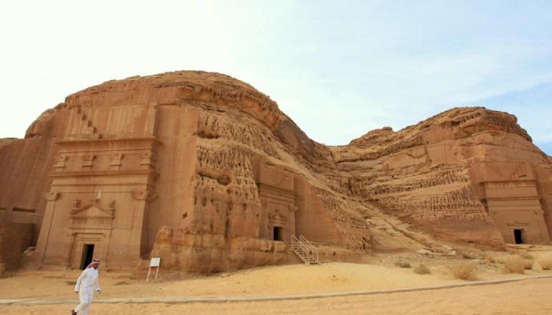 مقبرههای باستانی در مدائن صالح