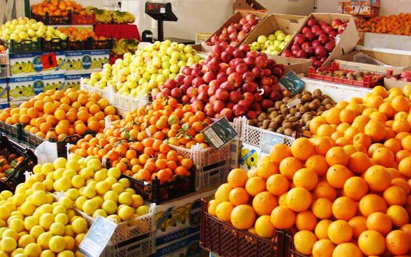قیمت جدید عمدهفروشی انواع میوه و سبزی