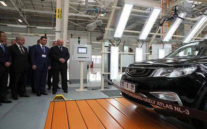 بزرگترین کارخانه خودروسازی بلاروس افتتاح شد