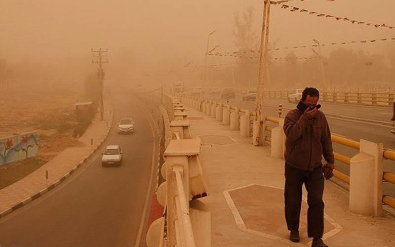 ریزگردهای خوزستان ۶۶ برابر حد مجاز شد