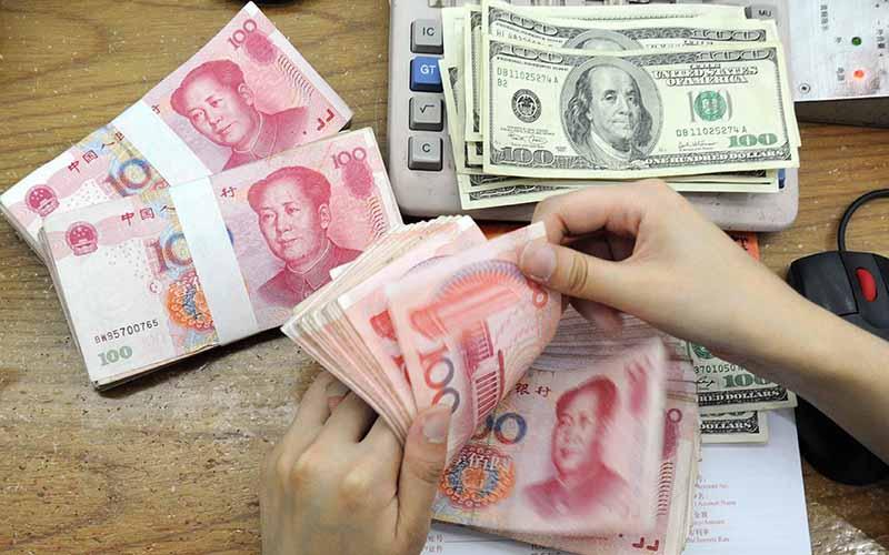 جهش نرخ یوآن چین در معاملات روز گذشته