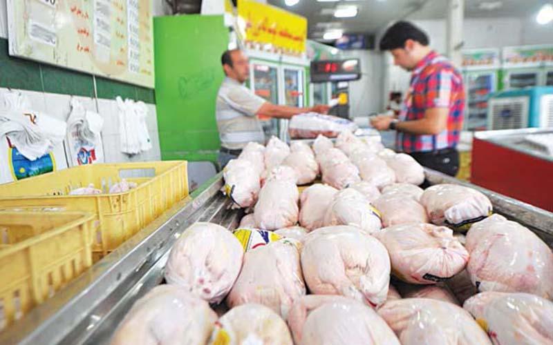 گران شدن مرغ به دلیل افزایش هزینههای تولید