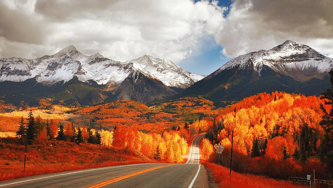 منحنی تجربه جاده کوهستانی