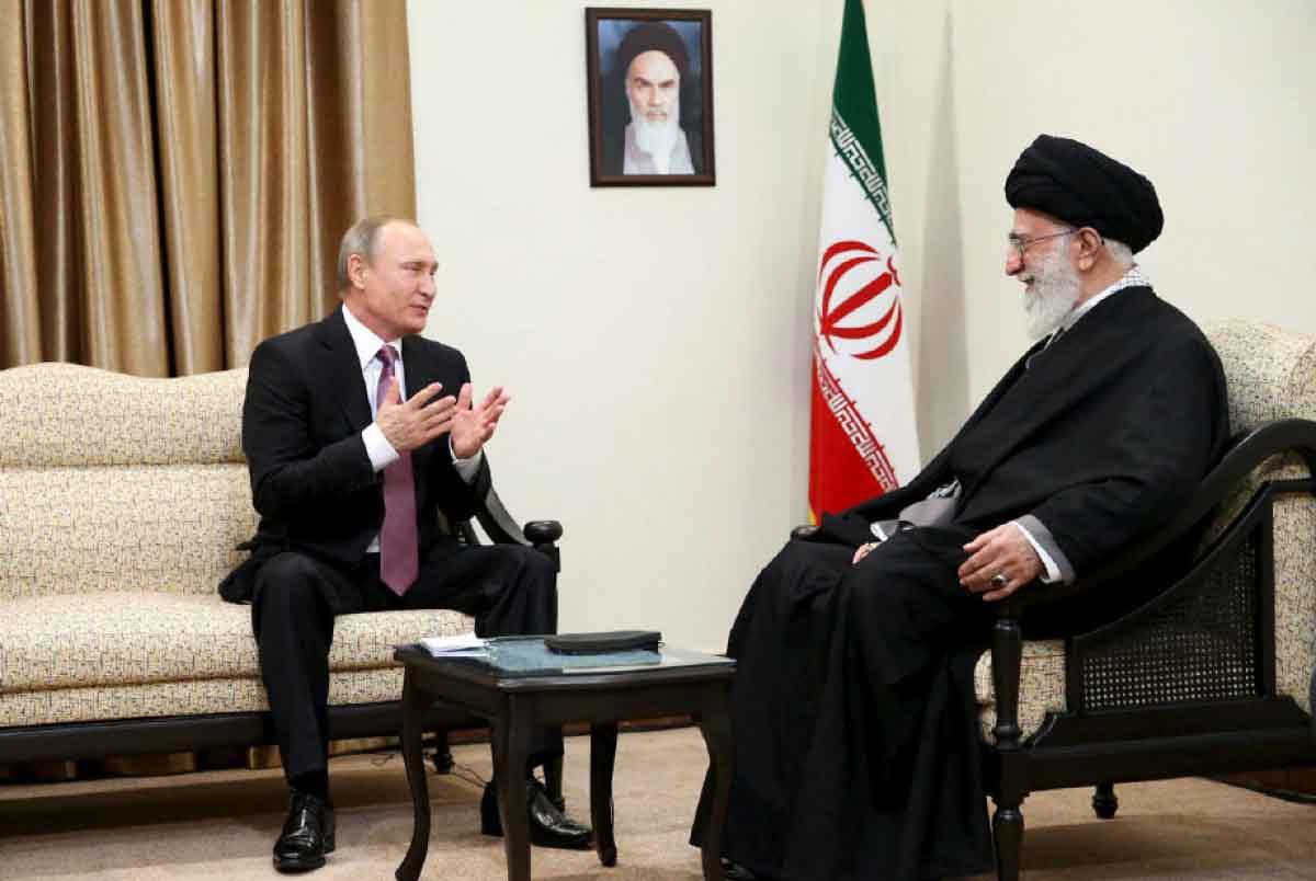 سخنان رهبر انقلاب در دیدار با رئیسجمهور روسیه