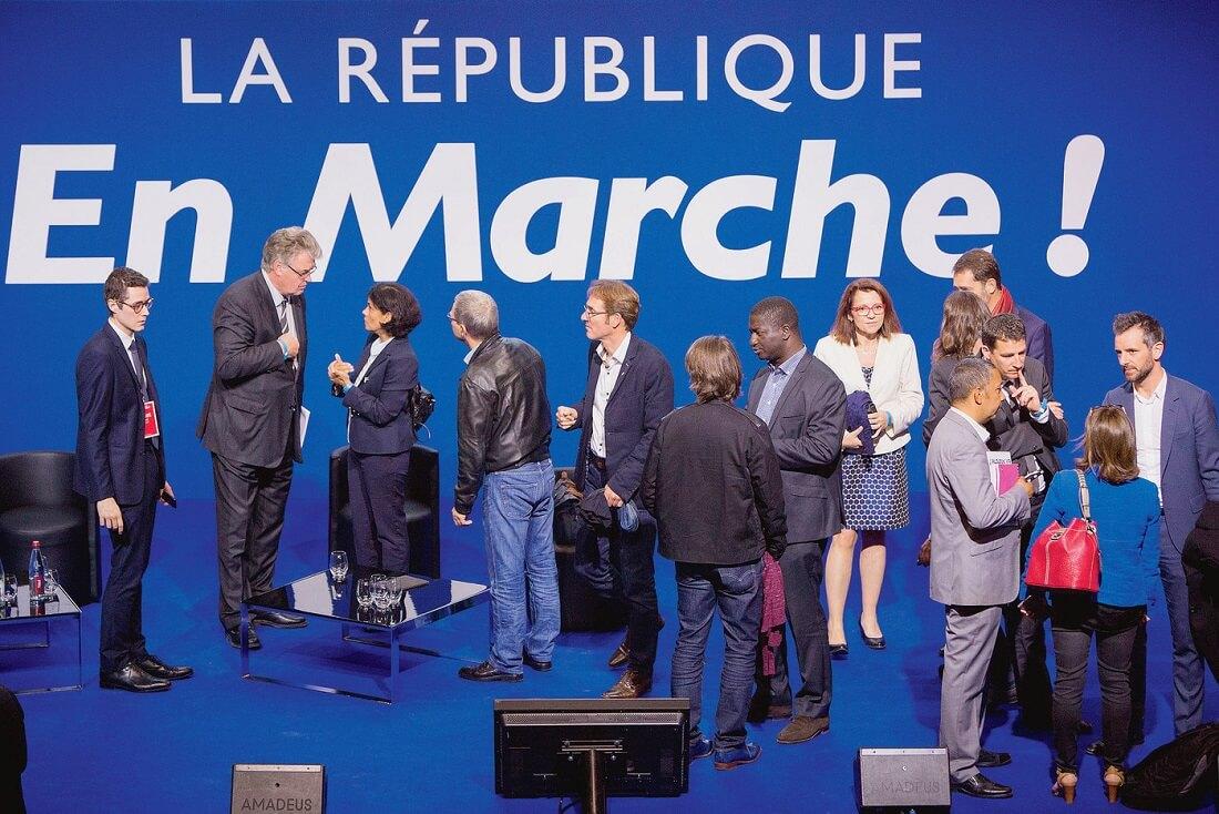 اُن مارش حزب سیاسی سوسیال لیبرال در فرانسه