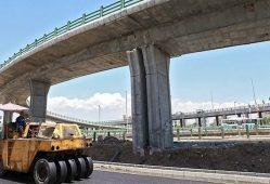 پیشرفت 77 درصدی پروژه بزرگراه همت