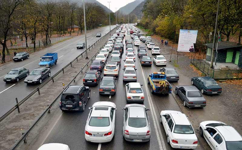 آغاز موج جدید سفرها به استان های شمالی/ ترافیک در هراز و چالوس