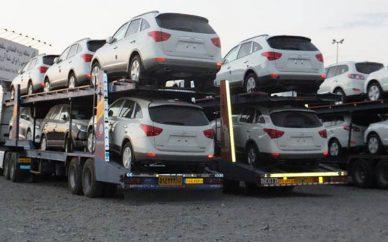 توقف عرضه خودروهای وارداتی