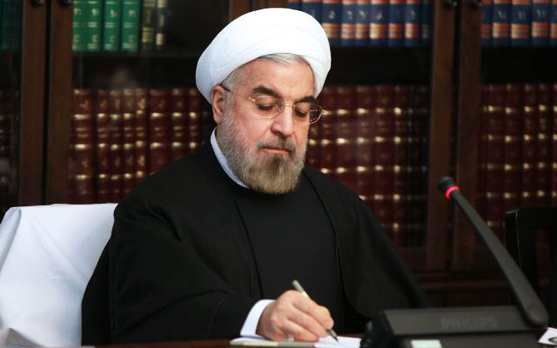 روحانی جان باختن سرنشینان جت شخصی ترک را تسلیت گفت