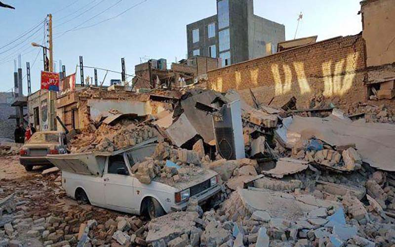 آمار خسارتهای زلزله کرمانشاه به ۸۳ هزار واحد رسید