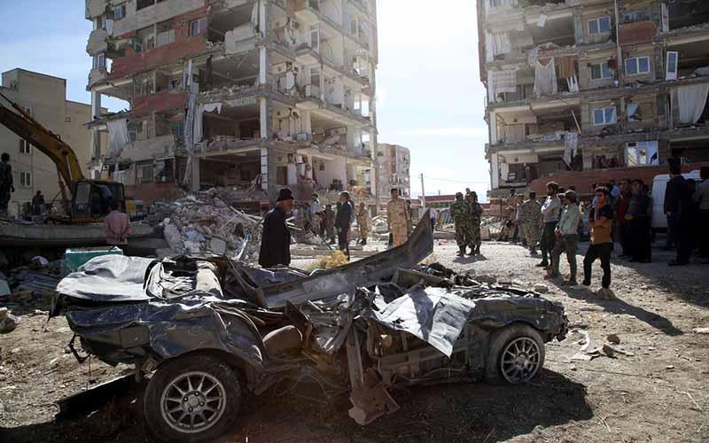 نوسانات ارز بر بازسازی مناطق زلزلهزده تاثیری نداشت