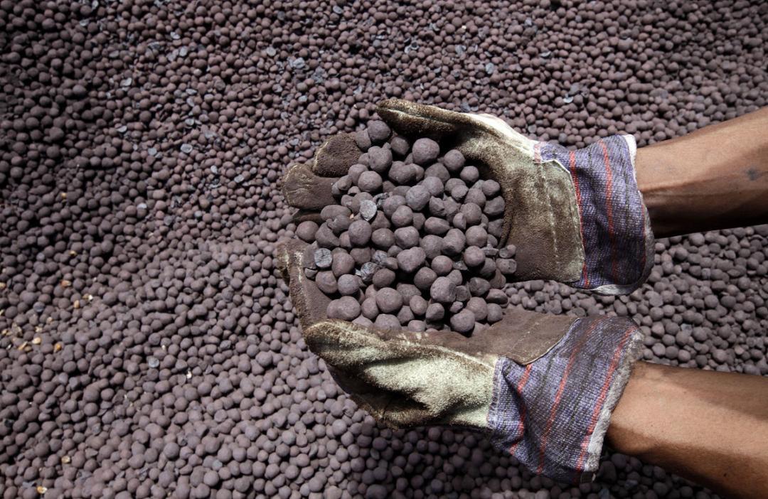 افت ۲ درصدی تولید سنگ آهن دانهبندی