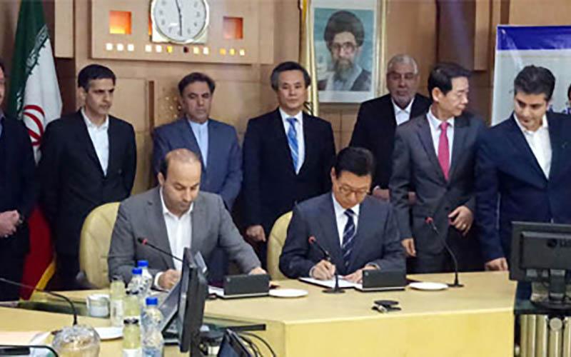 قرارداد تولید ۴۵۰ واگن ریلباس بین راهآهن با یک شرکت کره جنوبی