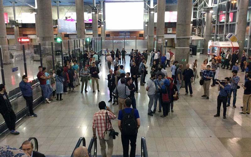 اعزام و پذیرش بیش از ۷۰۰ هزار مسافر در فرودگاه امام