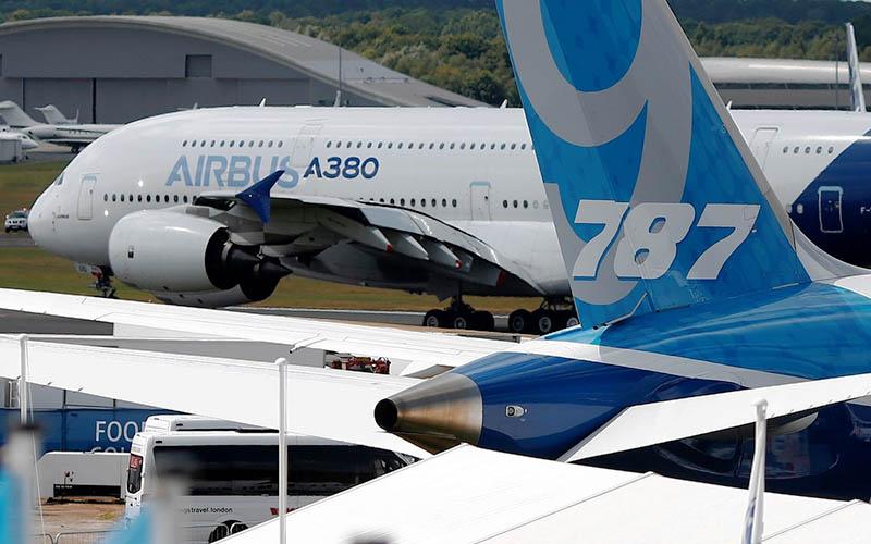 هواپیمای A380 ایرباس دست به دامان امارات شد