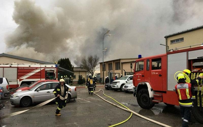 یک کشته و دهها زخمی در حادثه انفجار در پایانه گازی اتریش