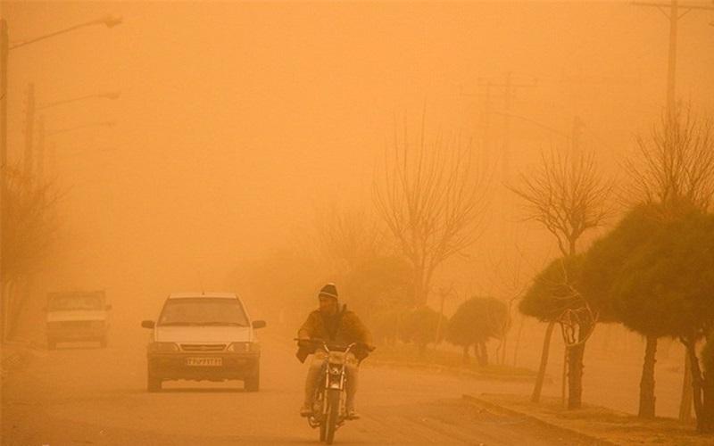 آسمان مرزهای غربی کشور غبارآلود میشود