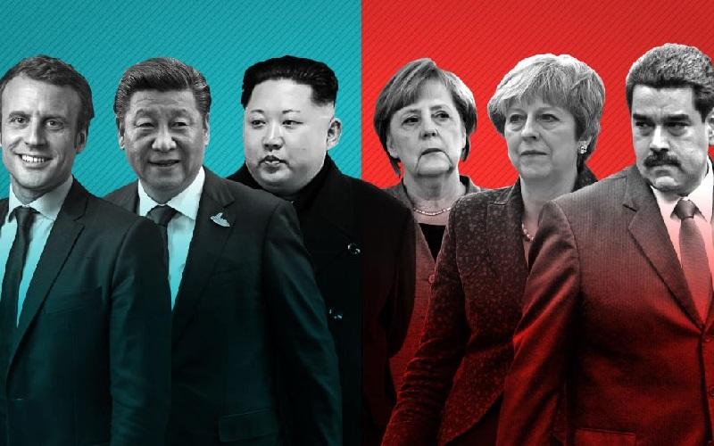 سیاستمداران موفق ۲۰۱۷ چه کسانی هستند و چه کردند؟