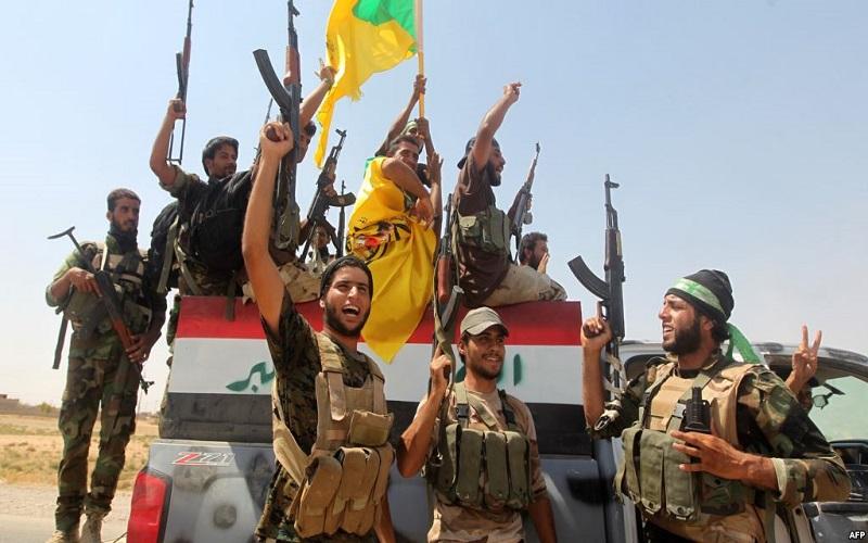نیروهای حشد شعبی عراق در مرز با سوریه مستقر شدند