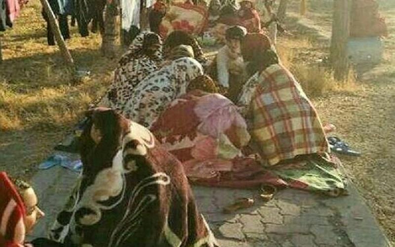 توزیع نفت سفید رایگان در مناطق زلزلهزده استان کرمان