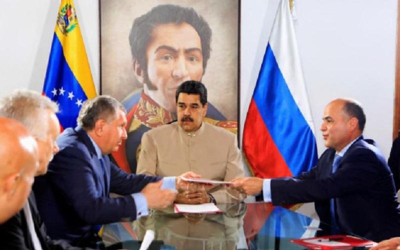 ونزوئلا توسعه دو میدان گازی را به روس نفت واگذار کرد