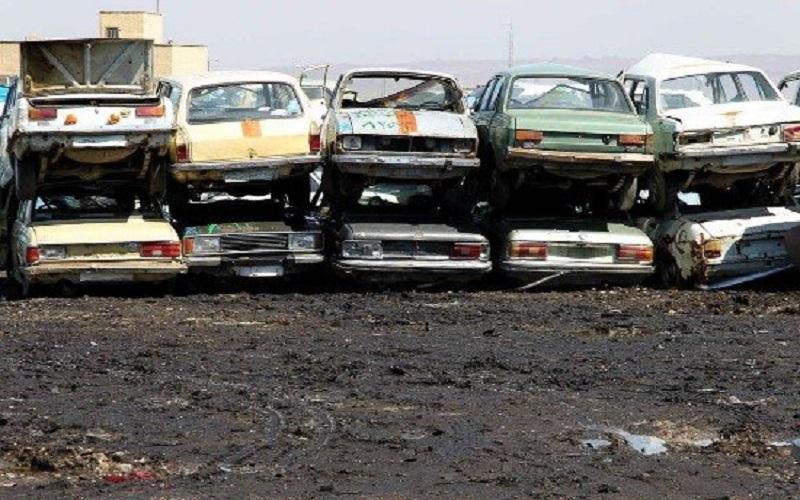 وجود یک میلیون و 350 هزار خودروی فرسوده در کشور
