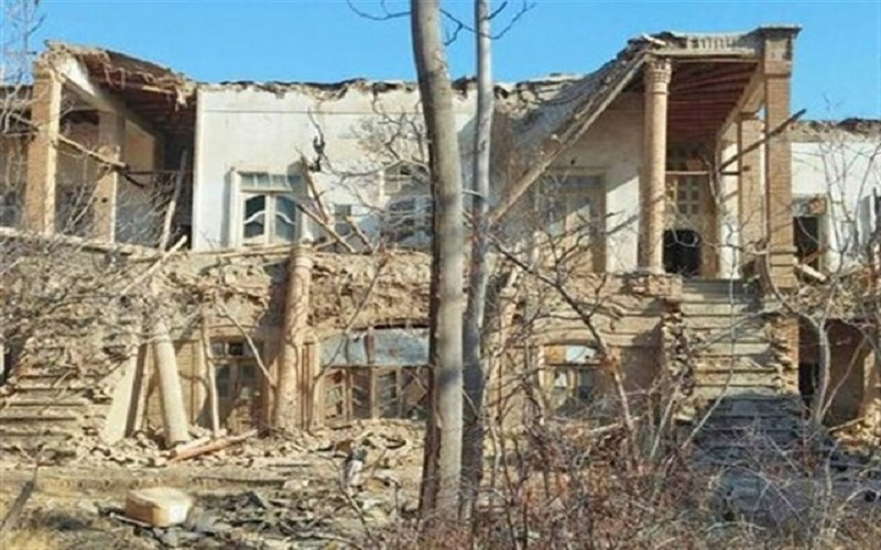 پیگیری قضائی مخربان خانه تاریخی در اراک