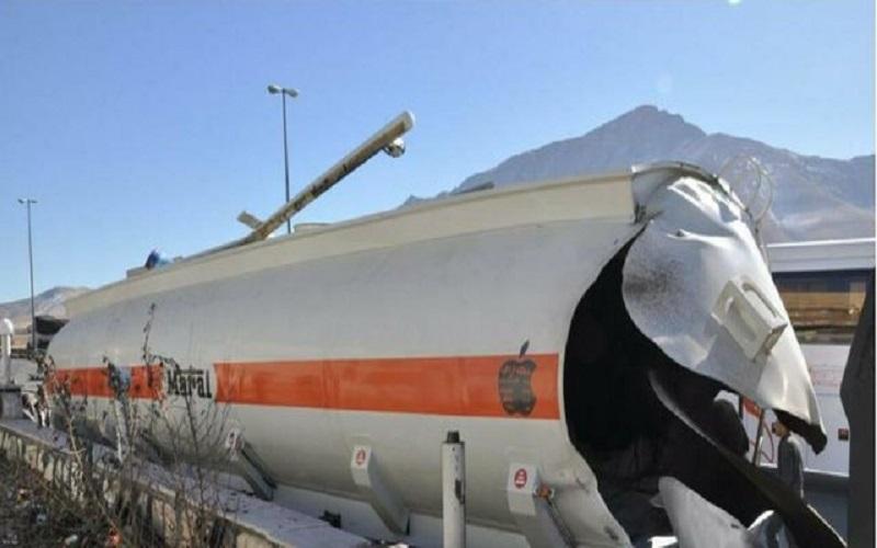 انفجار تانکر سوخت در اراک یک کشته و دو مجروح برجای گذاشت
