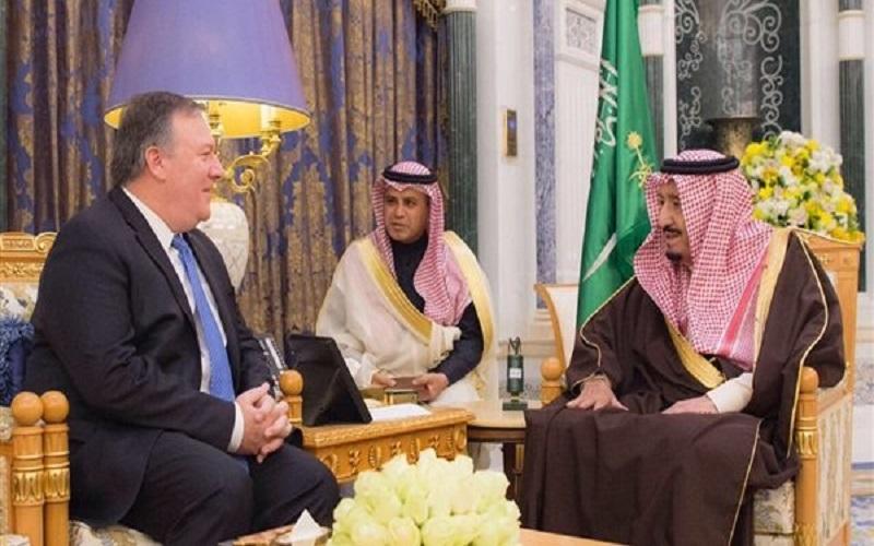 سفر مدیر سیا به عربستان و دیدار با ملک سلمان