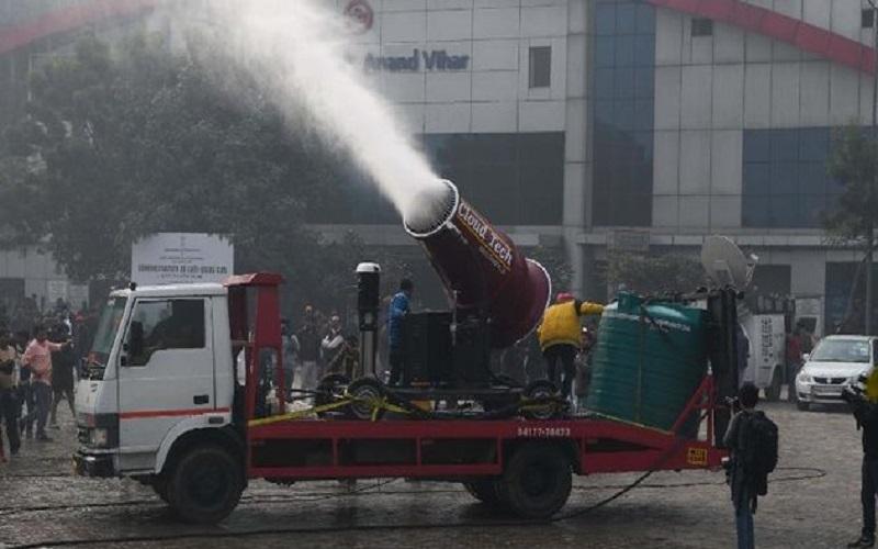 راهکار آبکیِ هند برای مقابله با آلودگی هوا!