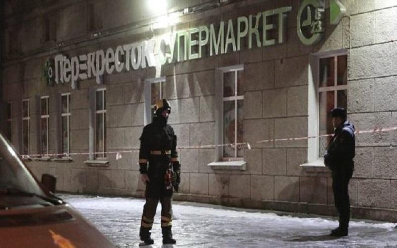 انفجار در سن پترزبورگ ۱۰ زخمی بر جای گذاشت