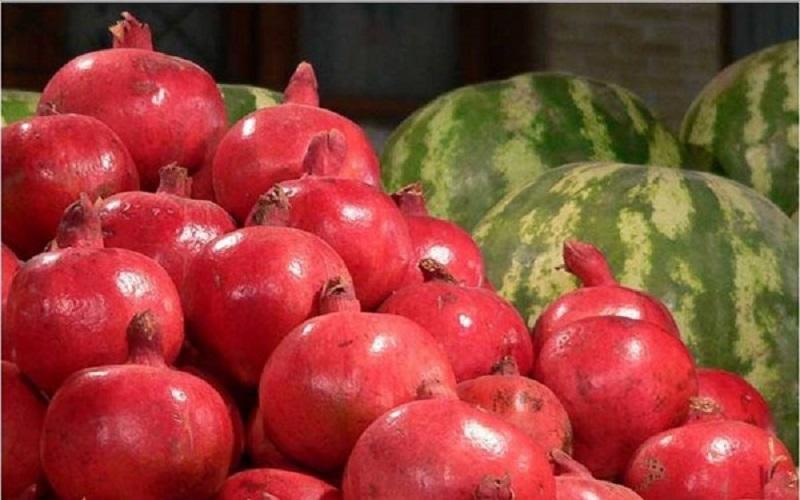 عدم بهرهبرداری از باغات ساوه قیمت انار را افزایش داد