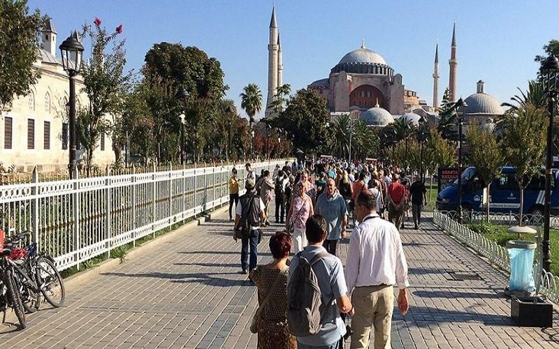 سفر ۳۵ میلیون گردشگر به ترکیه در سال ۲۰۱۸