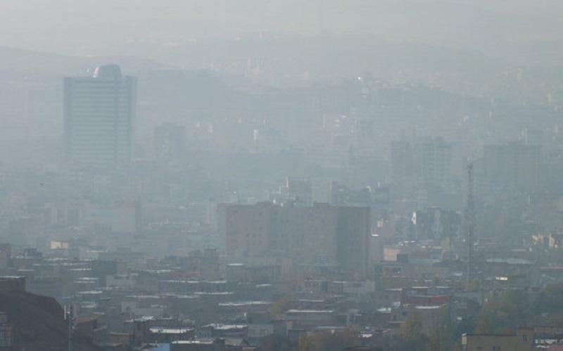 ادامه آلودگی هوا در استان تهران