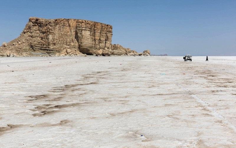 خشک شدن ۹۰ درصد دریاچه ارومیه
