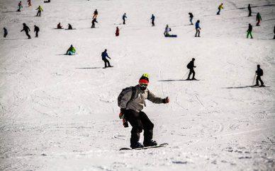 تجهیزات اسکی چقدر آب میخورد؟