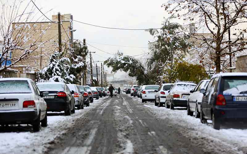 برف در تهران تا دوشنبه