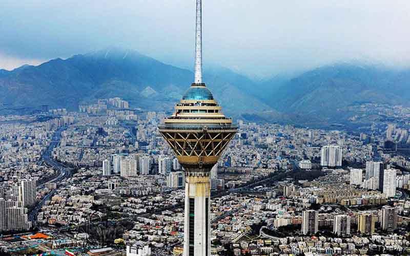 وزش باد شدید در پایتخت