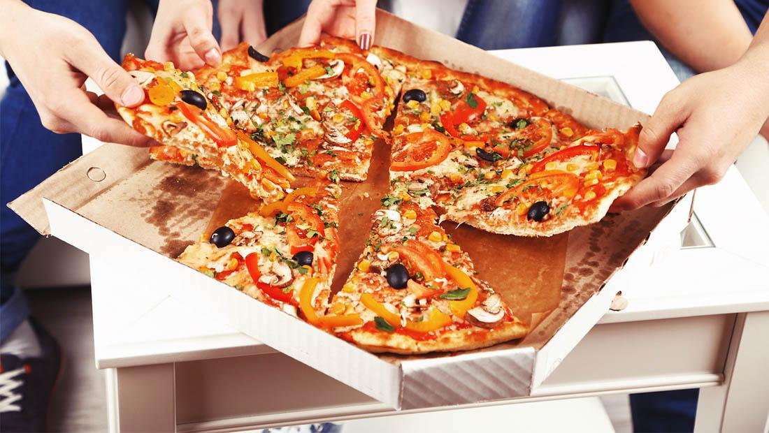 پارادوکس خست پیتزا