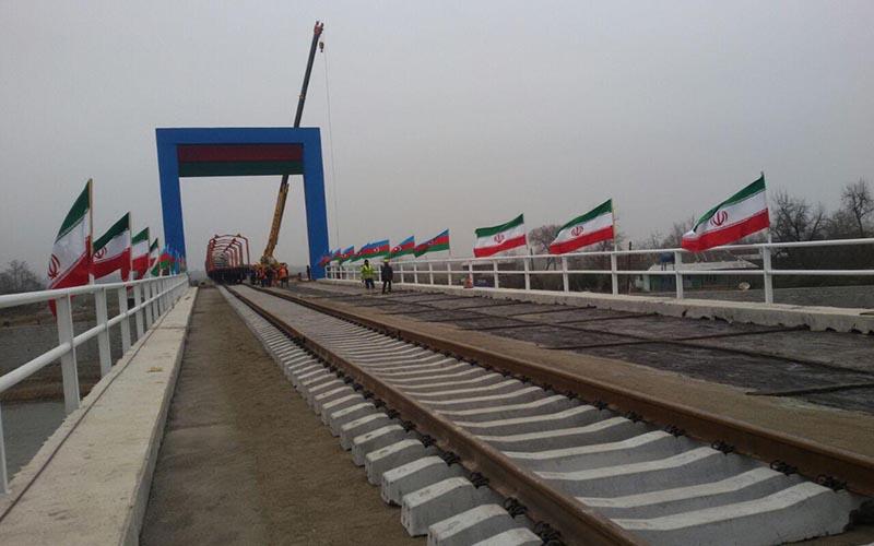 افتتاح خط آهن آستارا تا هفته آینده