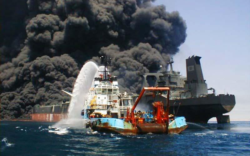 کشتیهای نفتکش بالاترین درصد امنیت را دارند