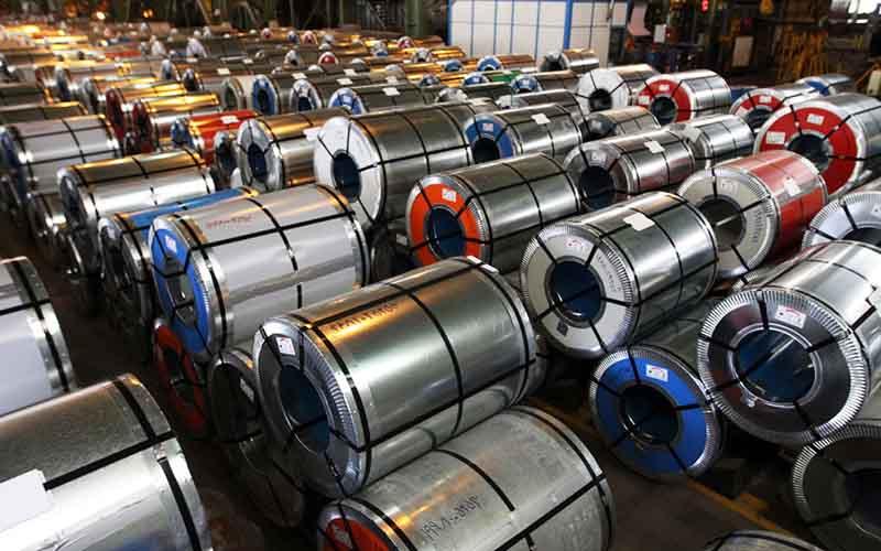 ساماندهی صادرات محصولات فولادی کلید خورد