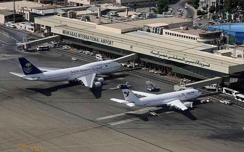 لغو تمام پروازهای فرودگاه مهرآباد
