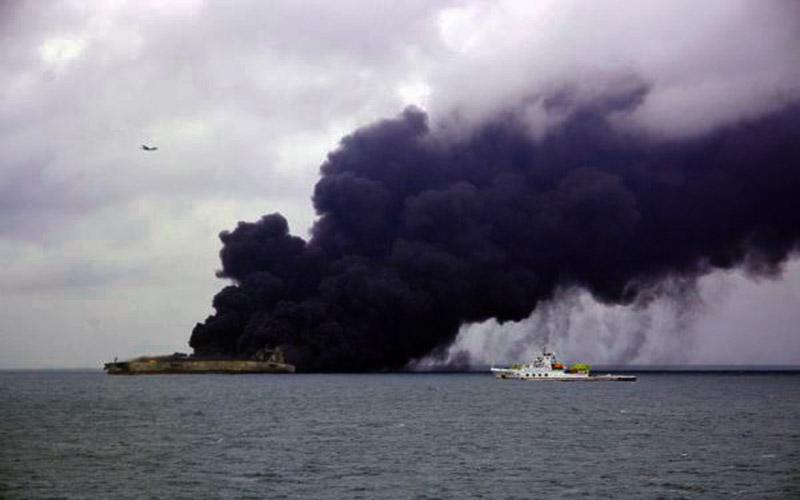 آخرین خبرها از نفتکش حادثهدیده ایرانی در چین
