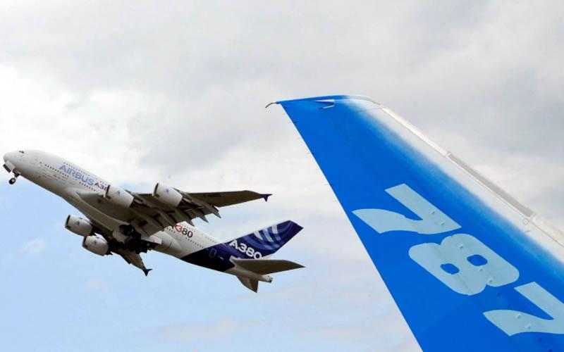 ایرباس بالاتر از بوئینگ پرواز میکند