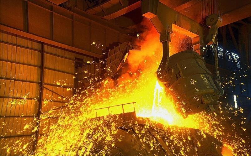 افزایش ۷.۴ درصدی تولید فولاد جهانی